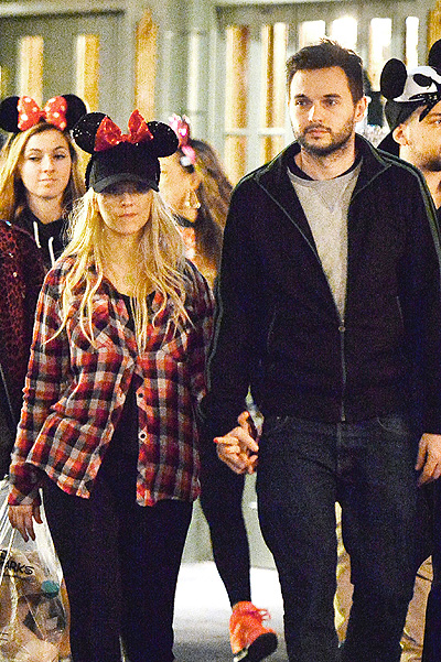EXCLUSIVE: Christina Aguilera celebrates her birthday at Disneyland with partner Matt Rutler and friends